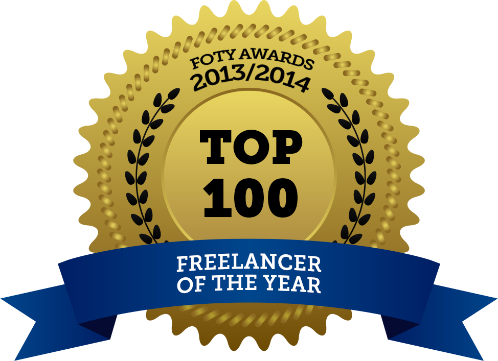 Pascal Lindeman Freelancer of the year 2014